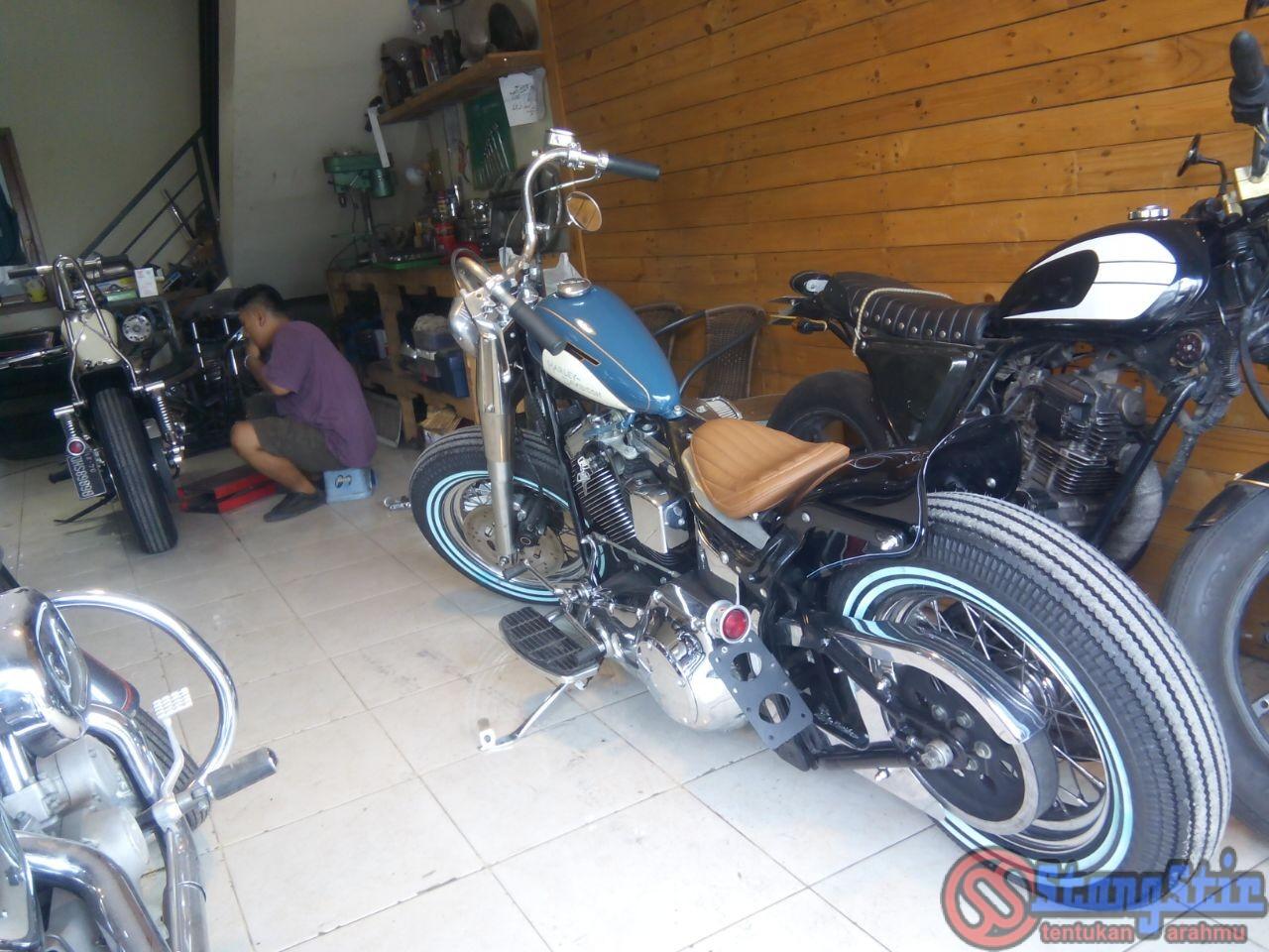 Paket Hemat Modifikasi Harley Davidson Ala Low S Garage Stangstir